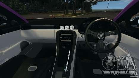 Toyota Soarer Drift para GTA 4 vista hacia atrás