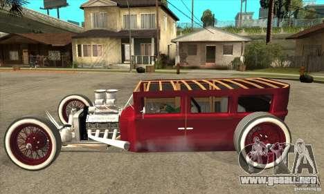 HotRod sedan 1920s no extra para GTA San Andreas left