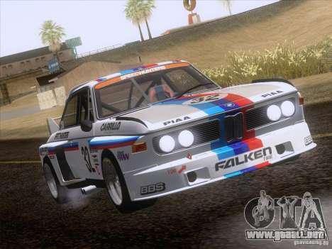 BMW CSL GR4 para visión interna GTA San Andreas