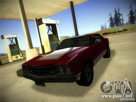 IG ENBSeries para GTA San Andreas sucesivamente de pantalla
