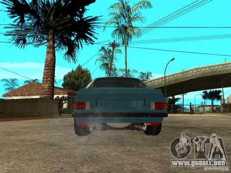 Ford Escort Mk2 para GTA San Andreas vista posterior izquierda