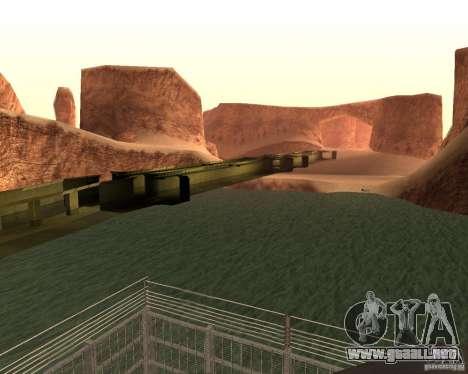 Base del dragón para GTA San Andreas tercera pantalla