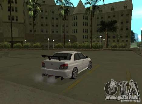 Subaru Impreza WRX STI-Street Racing para las ruedas de GTA San Andreas