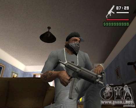 Mp5HD para GTA San Andreas