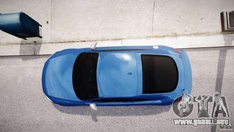 Audi TT RS Coupe v1 para GTA 4 vista superior