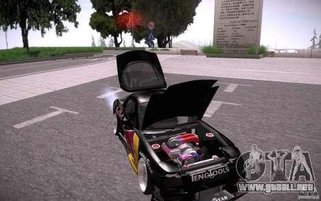 Mazda RX7 Madmikes Redbull para la vista superior GTA San Andreas