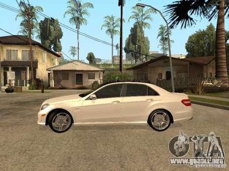 Mercedes-Bens e63 AMG para GTA San Andreas left