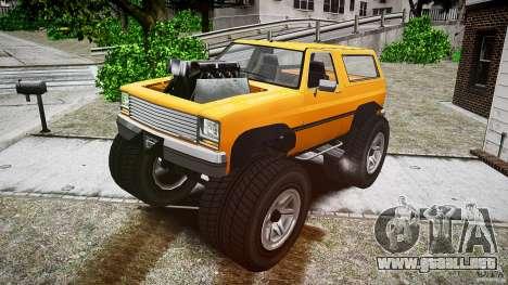 MonsterTruck para GTA 4