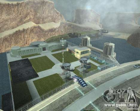 Dragón base v2 para GTA San Andreas novena de pantalla