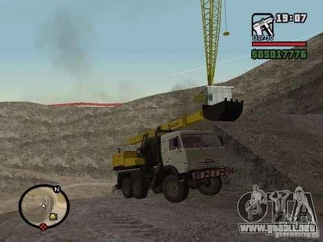 Kamaz UDS para GTA San Andreas