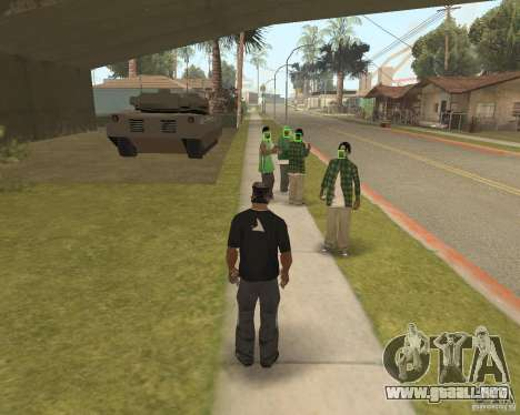 Mark and Execute para GTA San Andreas