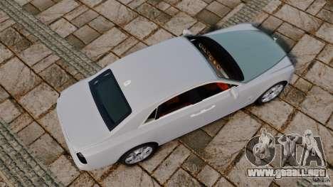 Rolls-Royce Ghost 2012 para GTA 4 visión correcta
