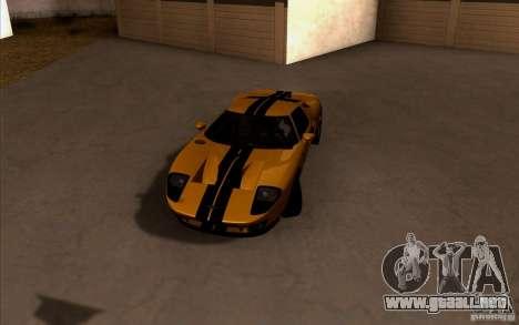 ENBSeries by HunterBoobs v1 para GTA San Andreas sucesivamente de pantalla