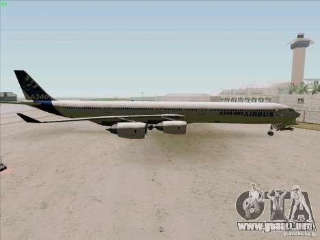 Airbus A-340-600 para GTA San Andreas left