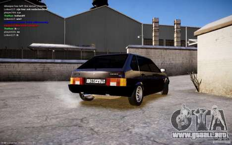 VAZ 2108 para GTA 4 left