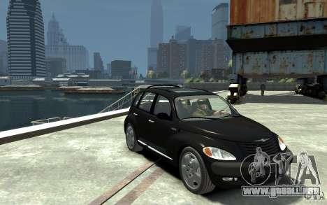 Chrysler PT Cruiser para GTA 4 vista hacia atrás