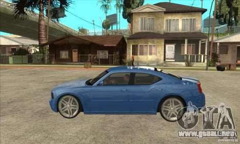 Dodge Charger R/T 2006 para GTA San Andreas left