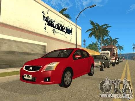 Nissan Sentra 2012 para GTA San Andreas