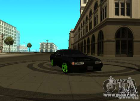 Elegy Green Drift para GTA San Andreas