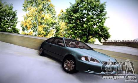 Honda Civic EK9 para la visión correcta GTA San Andreas
