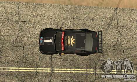 Mercedes-Benz E63 AMG DTM 2011 para vista inferior GTA San Andreas