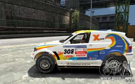 BMW X3 CC DAKAR para GTA 4 left