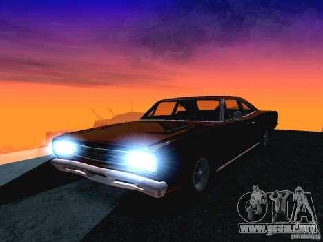 Plymoth Road Runner para GTA San Andreas