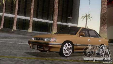 Subaru Legacy RS para GTA San Andreas vista posterior izquierda