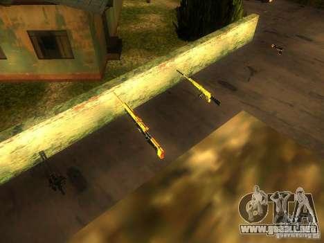 Armas en la calle Grove para GTA San Andreas séptima pantalla