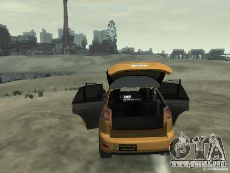 Lexus RX400 New York Taxi para GTA 4 interior