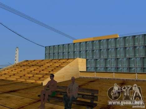 Playa nueva textura v2.0 para GTA San Andreas séptima pantalla