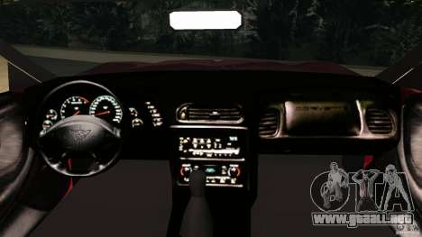 Chevrolet Corvette Z05 para GTA Vice City visión correcta