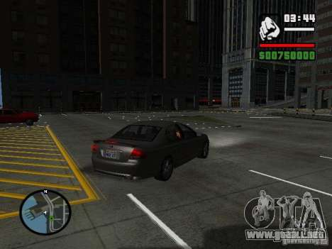 Ford Falcon XR8 para GTA San Andreas left