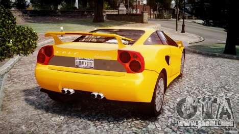 Lamborghini Cala para GTA 4 Vista posterior izquierda