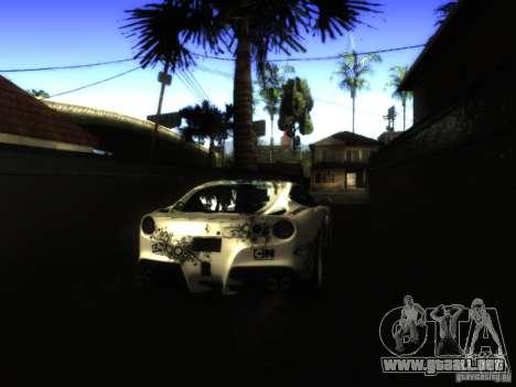 ENB Series Project BRP para GTA San Andreas sucesivamente de pantalla