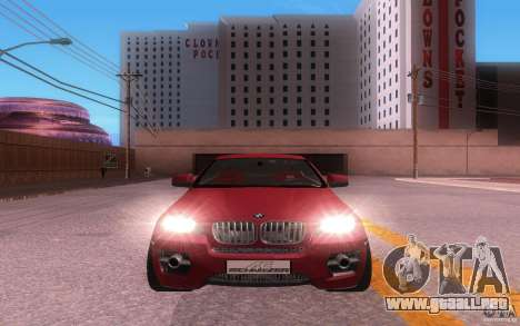 BMW X6 Tuning para GTA San Andreas left