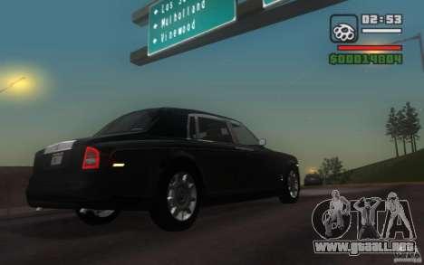 Rolls-Royce Phantom EWB para la visión correcta GTA San Andreas