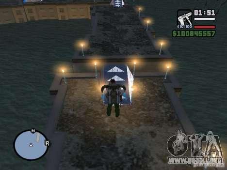 Night moto track para GTA San Andreas séptima pantalla