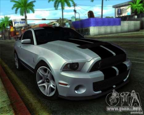 ENBSeries by ibilnaz para GTA San Andreas sucesivamente de pantalla
