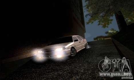 ВАЗ 2114 para visión interna GTA San Andreas