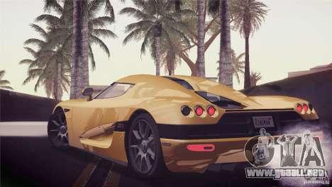 Koenigsegg CCX 2006 v2.0.0 para visión interna GTA San Andreas