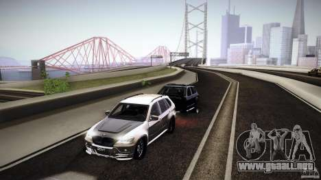 BMW X5 with Wagon BEAM Tuning para la visión correcta GTA San Andreas