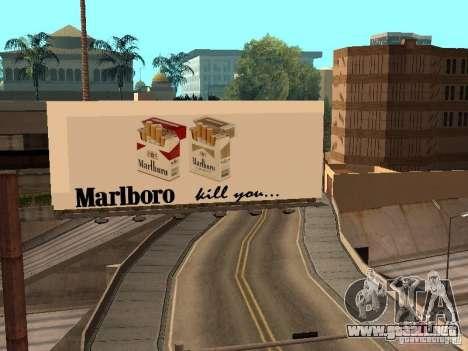 New SkatePark v2 para GTA San Andreas décimo de pantalla