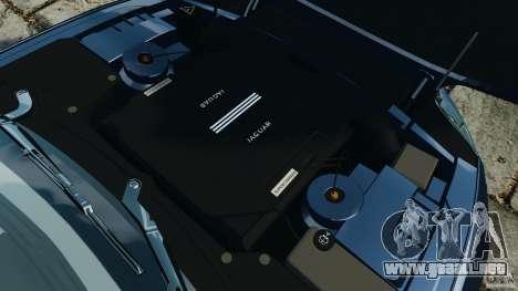 Jaguar XKR-S Trinity Edition 2012 v1.1 para GTA 4 vista lateral