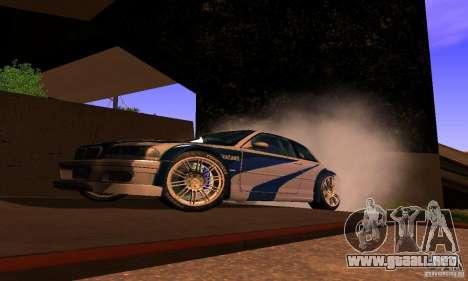 BMW M3 GTR para la visión correcta GTA San Andreas