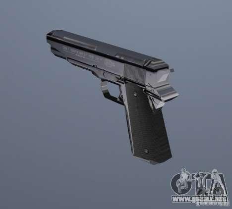 La nueva pistola para GTA Vice City