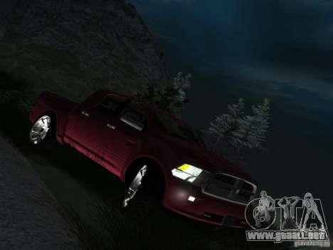 Dodge Ram 1500 Longhorn 2012 para la visión correcta GTA San Andreas