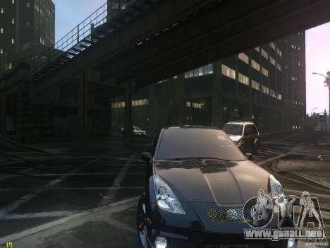 Toyota Celica para GTA 4 vista hacia atrás