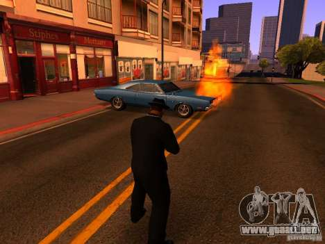 Pancor Jackhammer para GTA San Andreas segunda pantalla