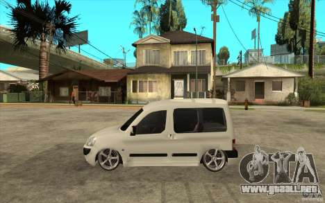 Citroen Berlingo 2007 para GTA San Andreas left